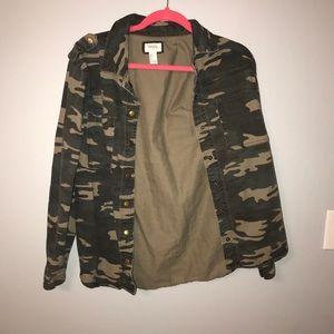 Forever 21 camp jacket